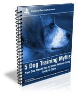 free ebook dog training myths